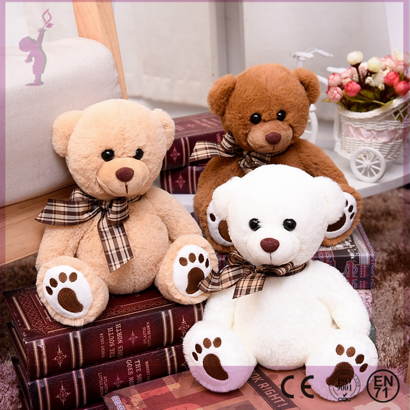 Alibaba Manufacturer Wholesale Teddy Bears Design Stuffed and Plush Toys for Baby Kids