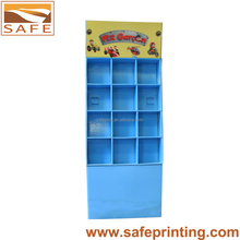 Custom Printing Cardboard Racks Booklets Standing Displays Books Shelf
