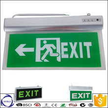 China factory rechargeable emergency exit sign light