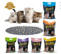 high quality irregular shaped cat litte/ silica gel cat sand