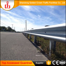 Double & triple wave highway guardrail Road Crash Barrier accessories