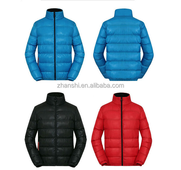 OEM Design Classic Winter Warm Hooded Men Quilted Jackets