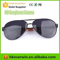Fashion Mini full hd 1080p Hidden eyewear Sunglasses Video Camera with 30 fps speed