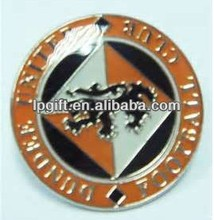 2014 Promotion gift hot sale and new fashion metal coin with diamond cut edge