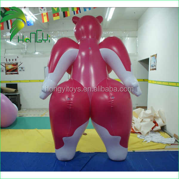 Giant Inflatable Big Boob Sexy Fox Toy For Sex / Inflatable Cartoon