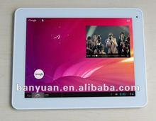 IPS screen Retina 2048*1536 Pixels(ipad 3 screen) (LG) +1G 16G+Bluetooth+Dual Camera+Android 4.1.1 MID+9.7 RK3066 Dual Core