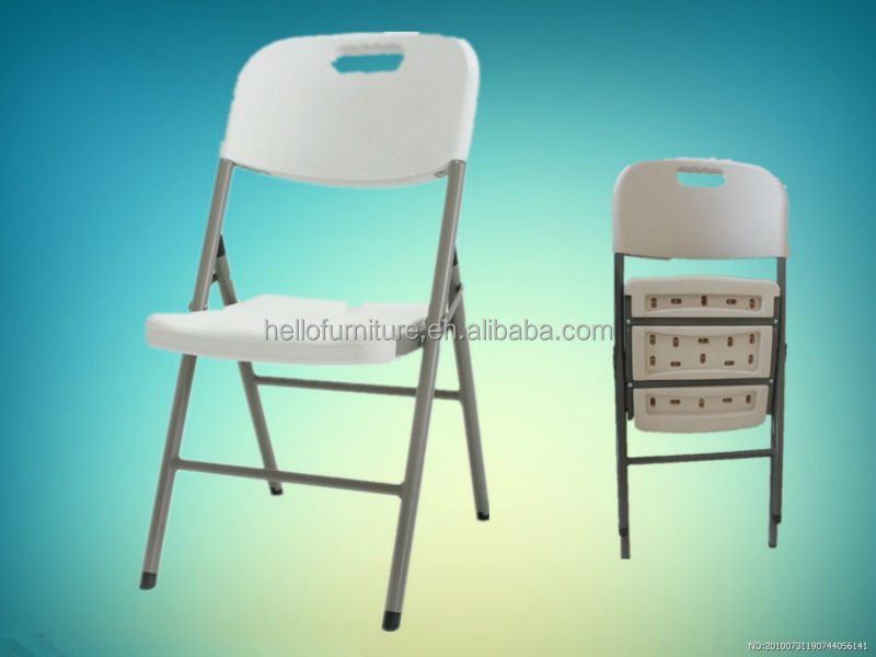 2016 hot sell cheap outdoor plastic folding chairs for wholesale