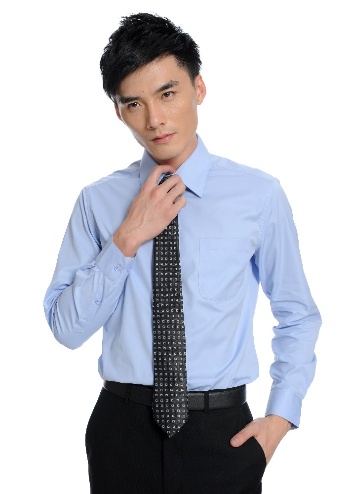 Custom factory price fashionable formal business man T-shirt for office man in China