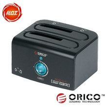 Dual bay ORICO 8628us3-c HDD docking station