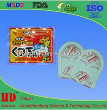 foot heat patch /menstrual heat pain relief patch /warmer pad in winter