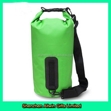 Top Selling Green 5L Waterproof for Hiking Swimming Wholesale Dry Bag