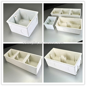 high quality pvc electrical junction box