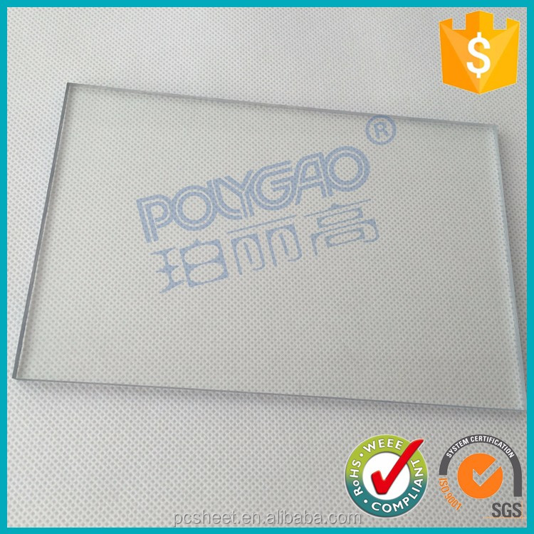 100% lexan polycarbonate raw material best solid sheet for greenhouse roofing