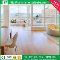 click system wpc floor plastic flooring water proof lvt like wood flooring