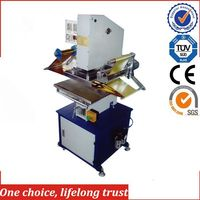 TJ-9 New generation pneumatic hot foil stamping machine for Plastic Rifle Case