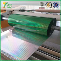 Thermal Laminating Holographic Film/ BOPP Film price offer