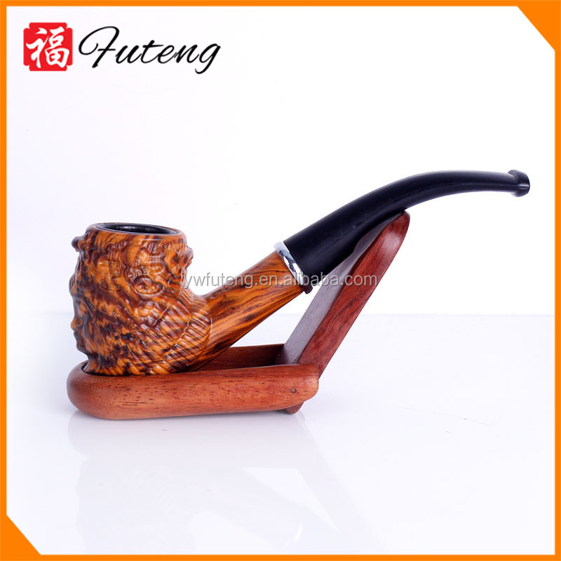 Chinese Animal resin pipes for cigar custom tobacco pipe