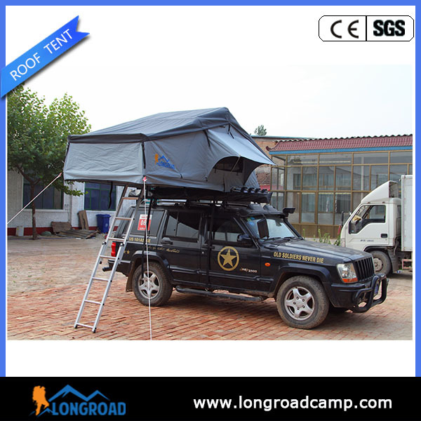 4x4 canvas camping outdoor jeep car roof top tent