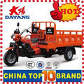 2015 OEM customise Hydraulic tipper 250 cc trike on sale with Gasoline Engine