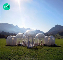 Outdoor giant new design commercial inflatable clear bubble tent for sale