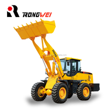 Rongwei brand wheel loader 3t front end loader with cheap price