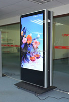 55inch Double sides Digital Signage standing HD led advertising player
