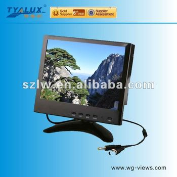 5.6 inch high resolution 3D-comb filter cctv lcd monitor