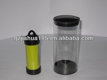 clear cylinder packaging tube for clothing