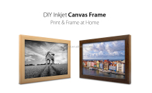 YouFrame DIY Home INKJET Photo Canvas Kit / home made photo canvas frame (A4 & Letter size available , no need software )