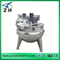 High Quality jacket kettle stainless steel steam jacketed kettle jacket kettle cooker best price