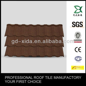 Roofing sheet chip metal roof,sheet chip step roof tiles