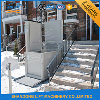 CE approved used passenger elevators for disabled person