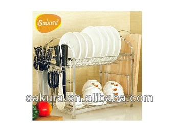 Dish rack and cutter rack