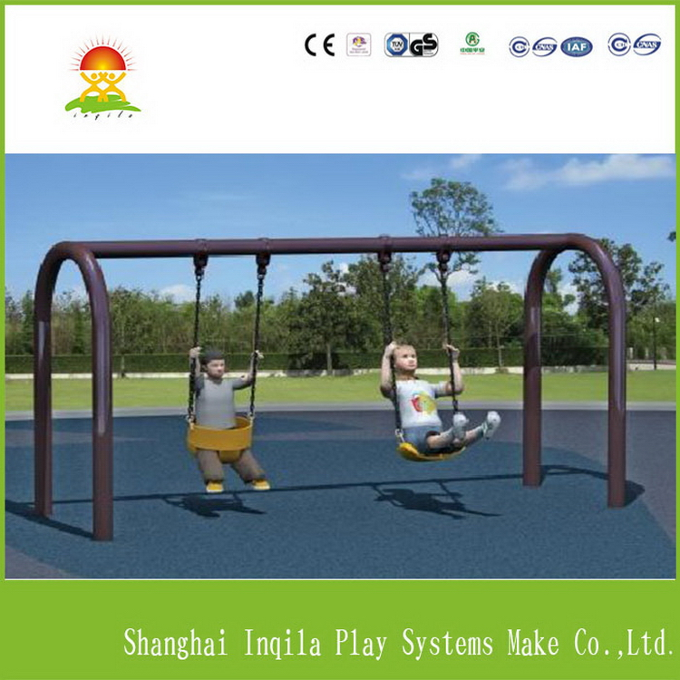 Fashion unique combine slide and swing for kids