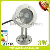 LED outdoor underwater light IP68 3w Fountain Lamp,led swimming pool light