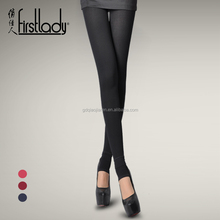 Firstlady 2016 new fashion 600D women double layer brushed step pantyhose thicken velvet tights single crotch piece ladies sexy
