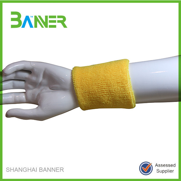 Colorful Pain Relief Wrist Band Cotton sports wrist protector