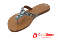 Coface Women Leather pakistani chappal