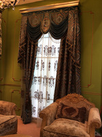 New luxury different styles of hanging door curtain