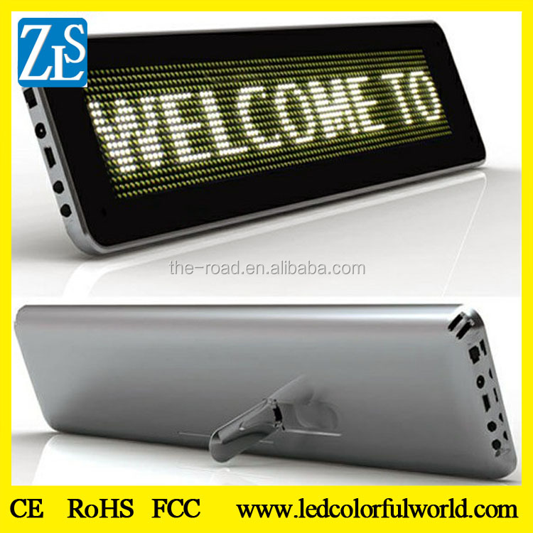 ZLS-966 taxi led display Message Moving Scrolling Sign Display Cheap Price car led display