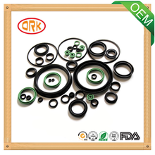 Colored Oil Resistance FPM round flat rubber gasket