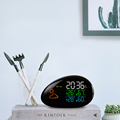 LED colorful display household weather station