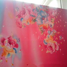 120gsm 240cm changxing microfiber 100% polyester fabric brushed fabric with floral printing for bedsheet