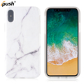 Newest shinny marbel imd TPU case for iPhone X , back cover case mobile accessories