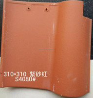Water Proof Terracotta Materials Spanish Roofing Tiles for House Roofing Top