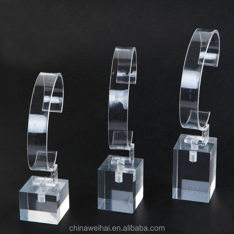 Clear Acrylic Mobile Watch Phones Display Rack