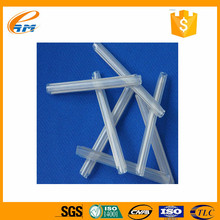PE EVA 60*1.2mm fiber optic Splice Protetion sleeve, clear plastic protective sleeve for pipes