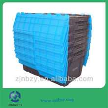 73L plastic attached-lid storage container
