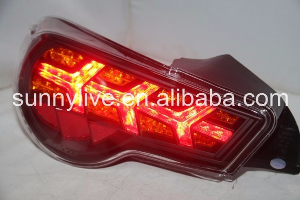 2013-2014 year TOYOTA GT86 FT86 LED Strip Rear Light Fishbone Style V4