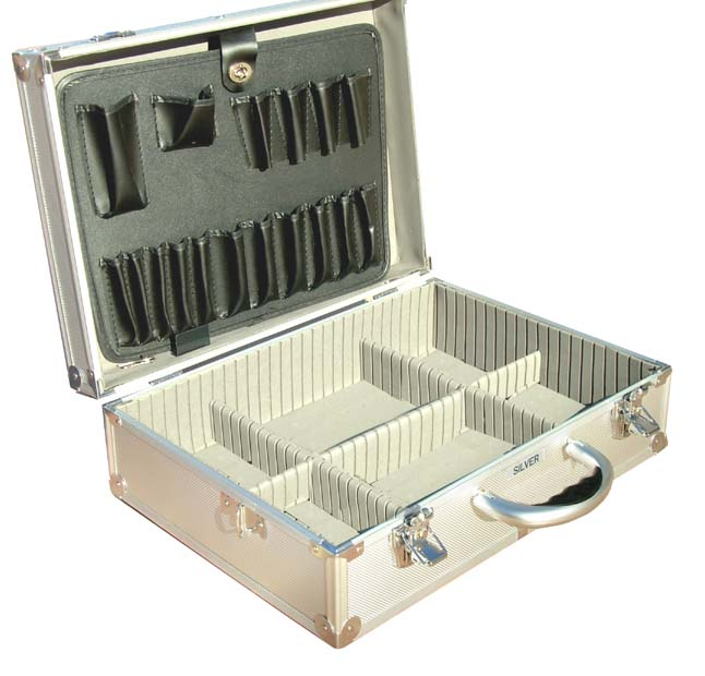 2015 new style tool case ,aluminum tool case ,high quality tool box with size 430*300*150MM